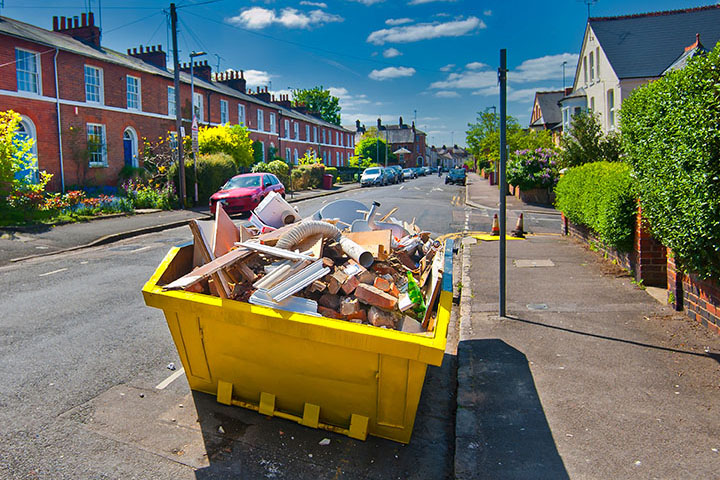 For All That Clutter – A Skip Is The Perfect Answer.